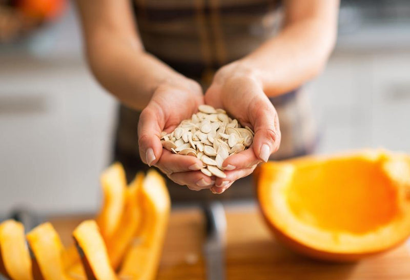 Pumpkin seeds benefits are countless. It contains calcium, protein, and vitamin-D. Let's look at pumpkin seeds' nutrition