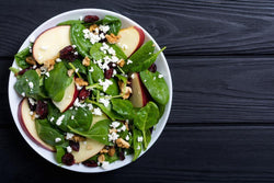 Dried Cranberry and Walnut Salad Recipe - Nature's Garden