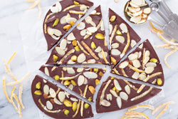 Healthy Chocolate Bark (Great for Valentine's Day!)