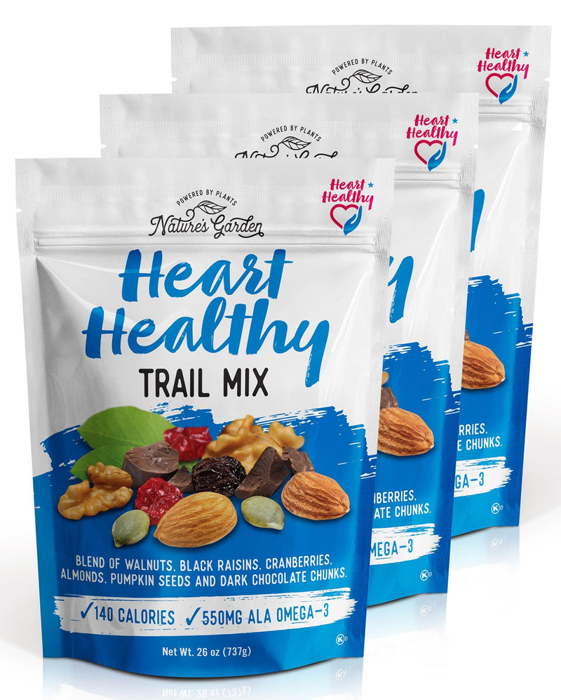 Nature's Garden Heart Healthy Trail Mix - Nature's Garden