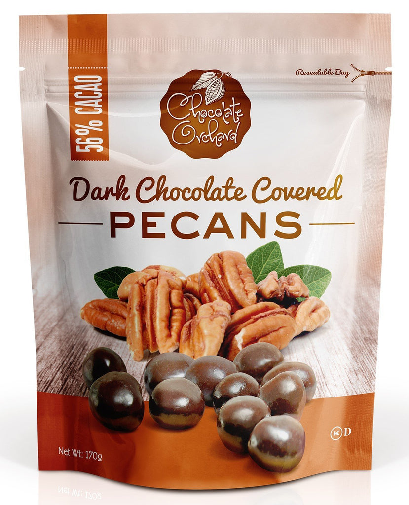 Chocolate Orchard Dark Chocolate Covered Pecans