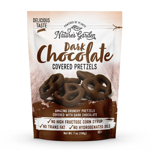 Nature's Garden Dark Chocolate Covered Pretzels - Nature's Garden