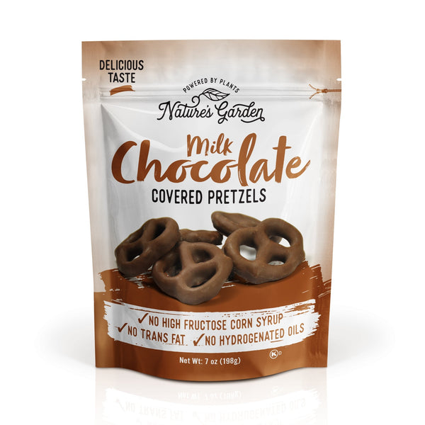 Nature's Garden Milk Chocolate Covered Pretzels 7 oz - Nature's Garden