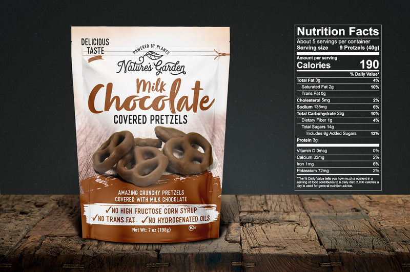 Nature's Garden Milk Chocolate Pretzels