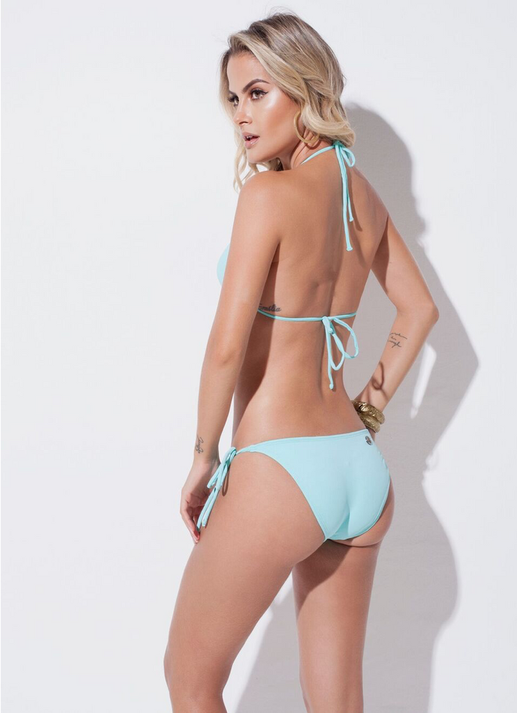 Hailey triangle string bikini
