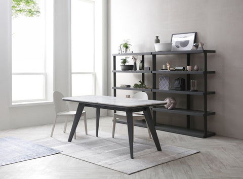 Featuring Heron Dining Table from Star Living Aartical Collection. Weavve Home and Star Living Singapore Blog Interview.