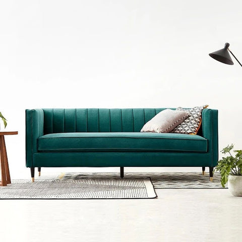 Featuring Bailee 3 Seater Fabric Sofa from Megafurniture display