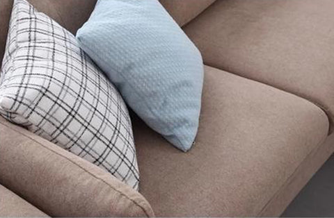 Featuring Tyler Fabric L-Shape Sofa from Megafurniture close up