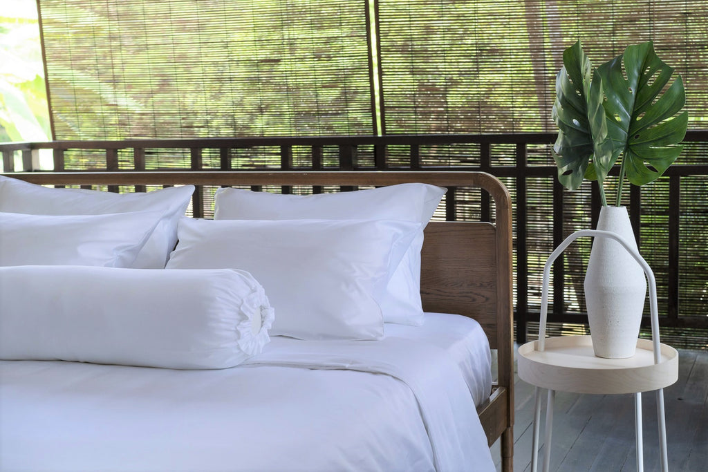 Weavve Home High Thread Count Cotton Bed Sheets Bed Linen Singapore