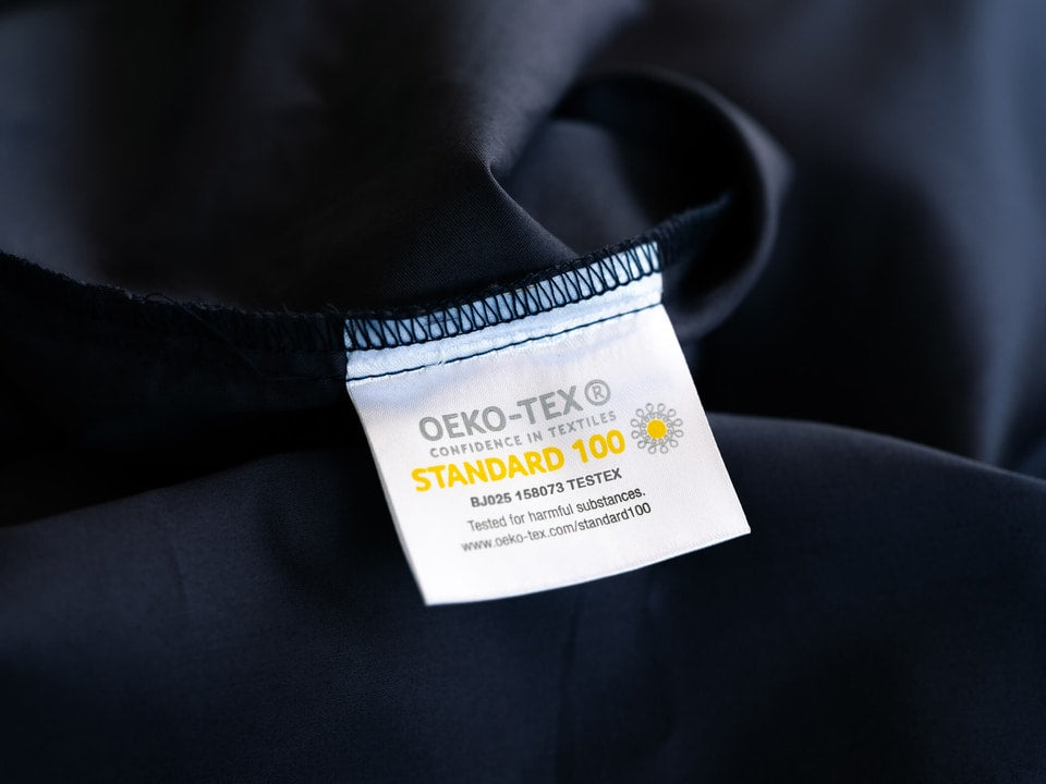 weavve oeko tex standard 100 certification label