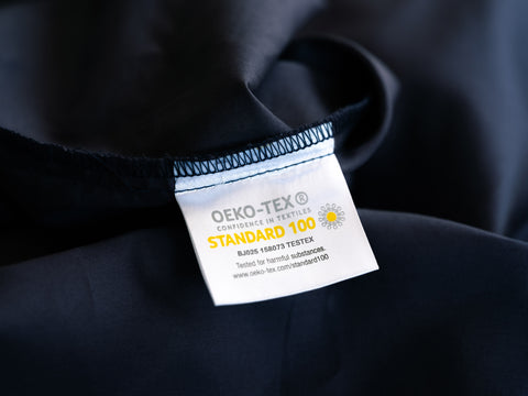 Weavve Oekotex standard 100 label certification