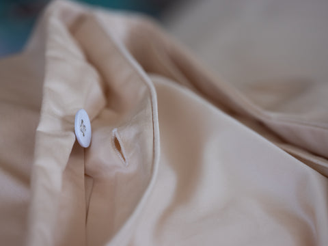Concealed Cloth Buttons. Weavve Home High Thread Count 100% Cotton Bed Sheets Singapore