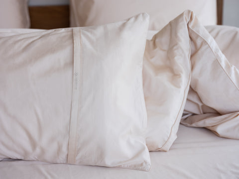 Back Envelope Pillowcase. Weavve Home High Thread Count 100% Cotton Bed Sheets Singapore