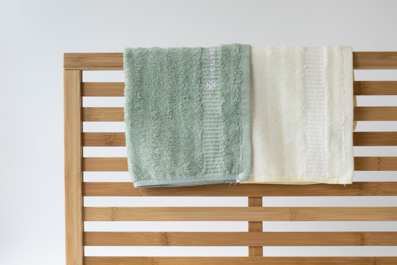 Bamboo Fibre Face Towel - Set of 4
