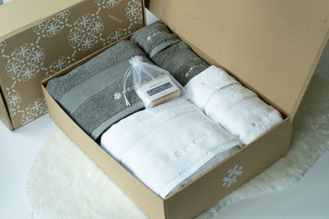 Ultra Soft Cotton Towel Bundles