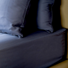 Load image into Gallery viewer, Silky smooth TENCEL™ bed linen sheets, 400 thread count, 100% TENCEL™ Lyocell fibres. Lyocell Fitted Sheet from Singapore Weavve Home Lyocell Collection.