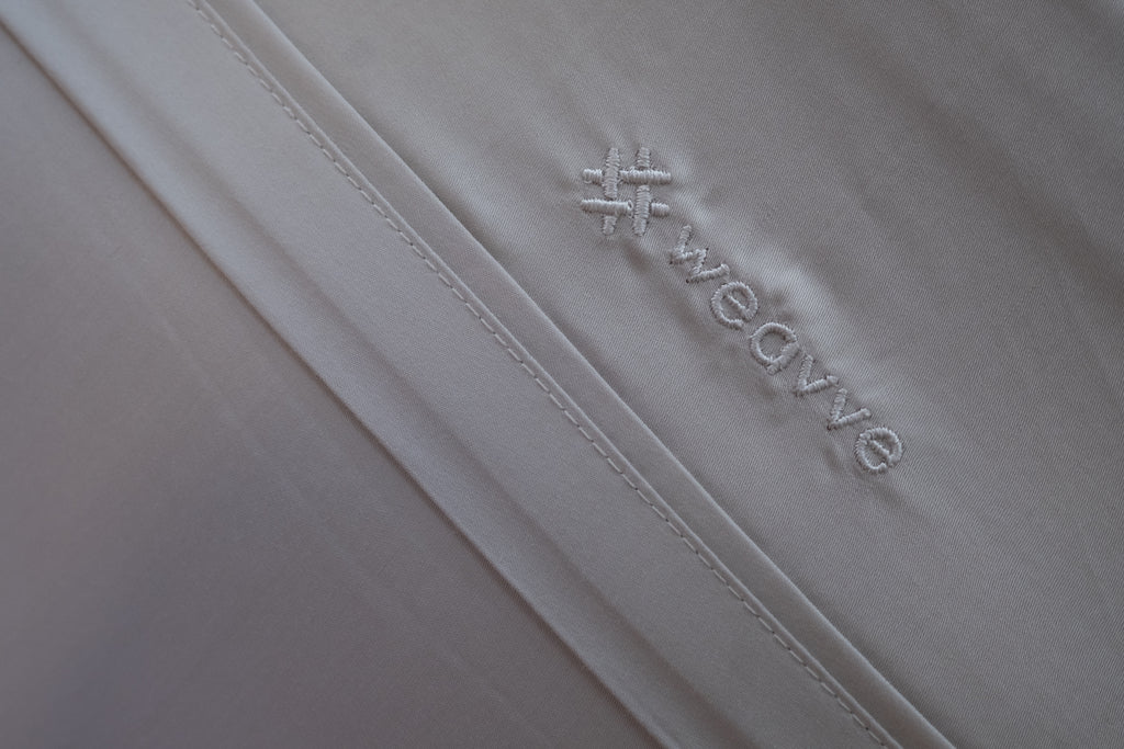Silky smooth TENCEL™ bed linen sheets, 400 thread count, 100% TENCEL™ Lyocell fibres. Lyocell Pillow Case Pair from Singapore Weavve Home Lyocell Collection.