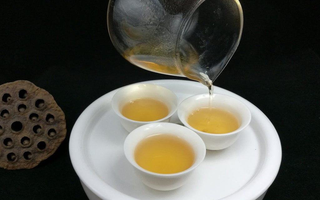 The delectable Oolong tea taste!
