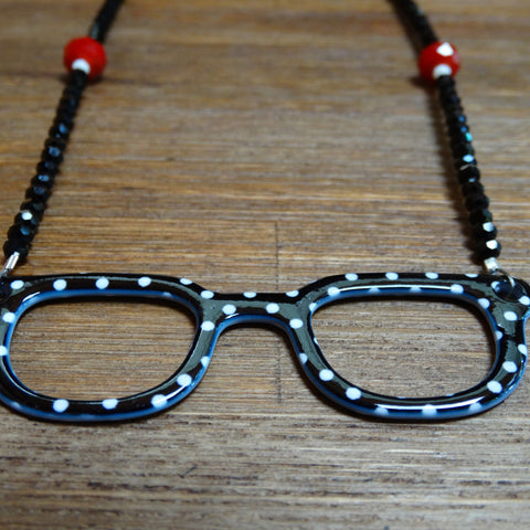 Speckled Specs Necklace