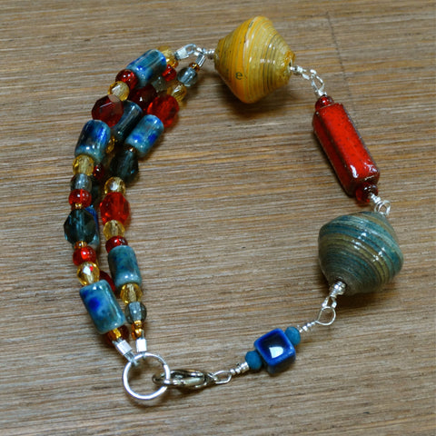 Primary Color Party Bracelet