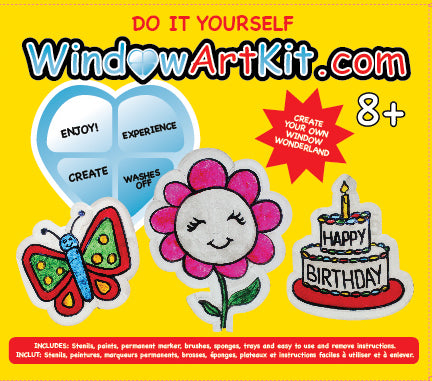 ENJOY EXPERIENCE CREATE PROFIT professional window art the whole world will enjoy.