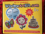 Classic Halloween and Christmas 2 in 1 Super Window Art Kit (residential)