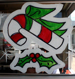 Commercial  Classic Christmas Window Art Art Kit