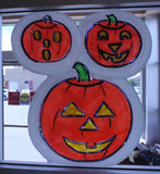 Classic Halloween Window Art Kit Residential