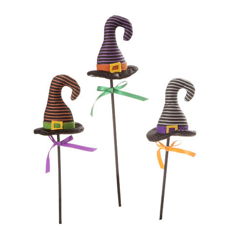 Striped Witch Hat Pick: 4 x 16 inches,