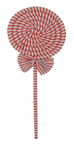 34 IN GLITTER SPIRAL LOLLIPOP