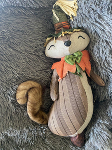 Mrs Fox Stander Plush