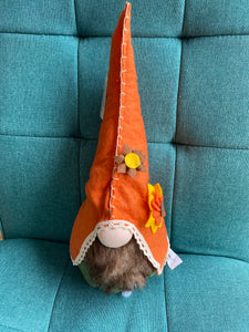 Fall Gnome Tabletop- Orange hat