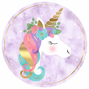 "12""Dia Unicorn Sign"