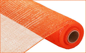 "21""X10yd Orange Metallic Mesh"