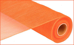 "21""X10yd Orange Plain Mesh"