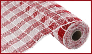 "10""X10yd Metallic Check Mesh"