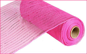 "10""X10yd Hot Pink Metallic Value Mesh"