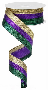 "1.5""X10yd 3 In 1 Metallic Ribbon"
