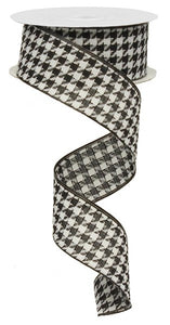 "1.5""X10yd Large Houndstooth"