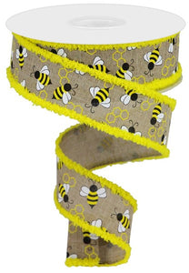 "1.5""X10yd Mini Bumblebees/Drift"