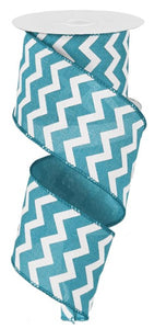 "2.5""X10yd Small Chevron/Royal"