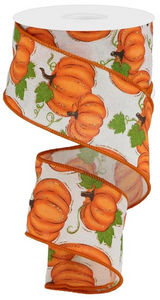 "2.5""X10yd Pumpkin Patch"