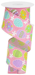 "2.5""X10YD EASTER EGGS ON ROYAL"
