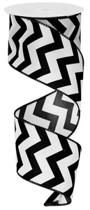 "2.5""X10yd Satin Chevron"