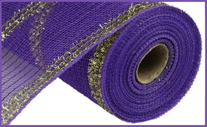 "10.5""X10yd Wide Tinsel/Pp/Foil Mesh"
