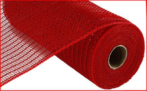 "10""X10yd Matte Wide Foil Mesh- Red"