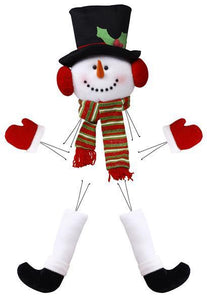 "5 PC 28.5""H SNOWMAN DECOR KIT"