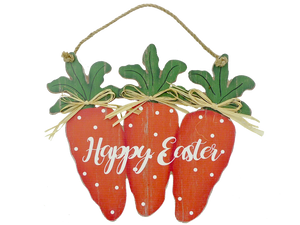 Wooden Happy Easter Sign D0.5xW13xH11