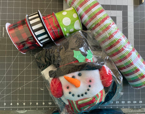 FB and YouTube live Snowman Kit