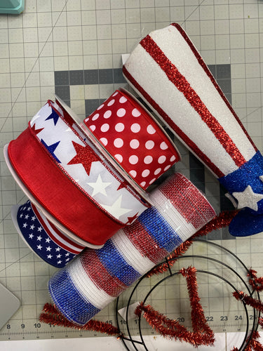 Fourth of July center piece kit